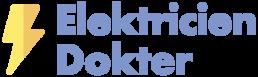 Elektricien Dokter - Website Logo Blauw
